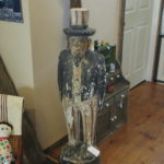 Great Hand Carved 19th Century Uncle Sam